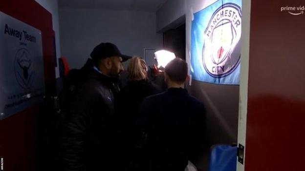Manchester City: Amazon crew help after power failure at Burnley