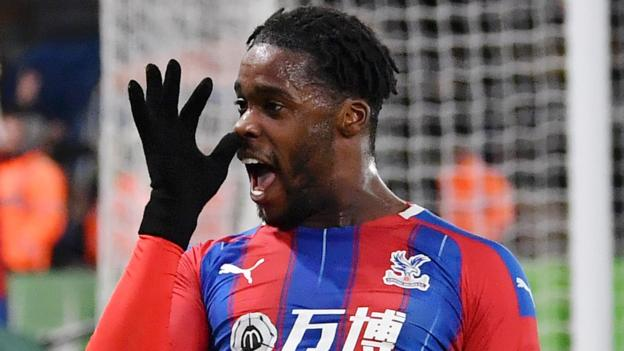 Crystal Palace 1-0 Bournemouth: Ten-man hosts into fifth after Jeffrey Schlupp's winner
