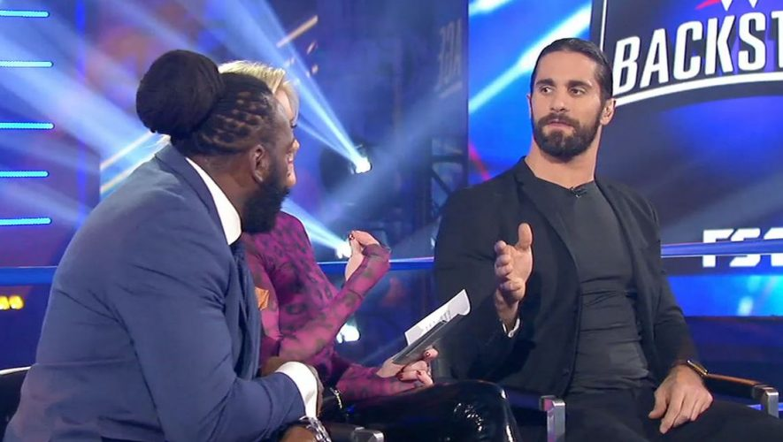 Seth Rollins on CM Punk, being hated, social media's 'double-edge' | WWE BACKSTAGE (VIDEO)
