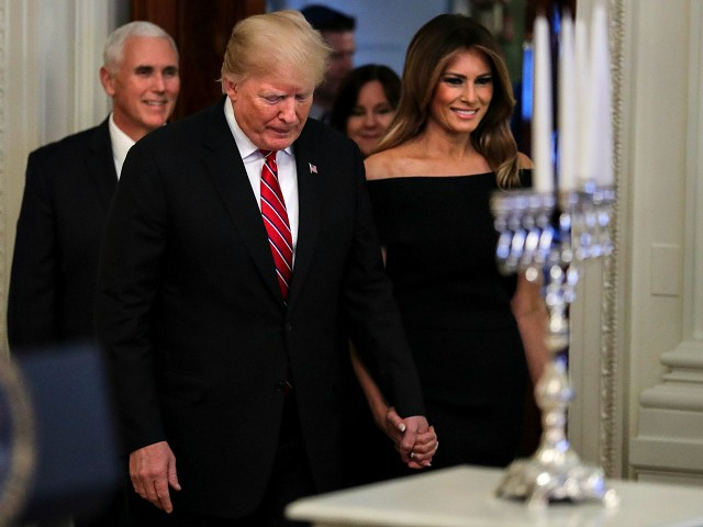 Watch Live: President Donald Trump Hosts Hanukkah Reception at the White House | Breitbart