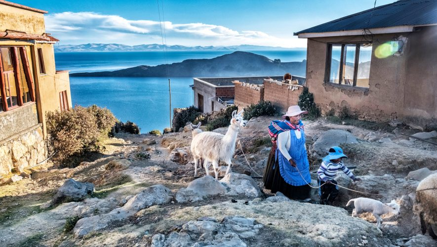Hike and explore Inca ruins on Lake Titicaca's largest island