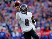 Ravens' Lamar Jackson (quad) questionable for 'TNF'