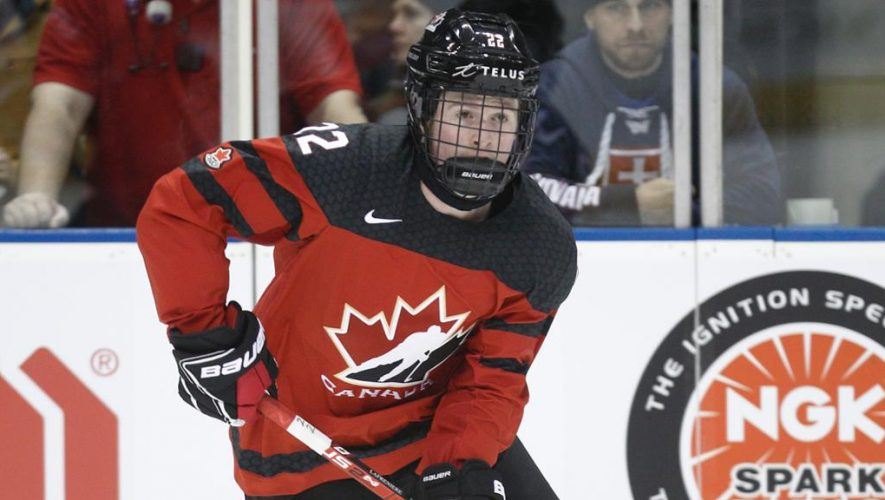 Lafreniere says he'll be ready to play World Juniors for Canada