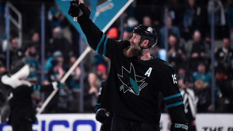 Thornton reached numerous milestones on way to 1,600th NHL game