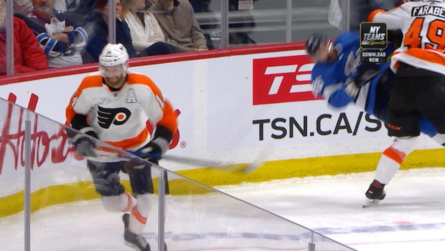 Farabee of Flyers suspended three games for interference