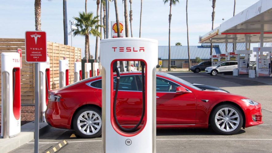 Tesla Supercharger Stops Are About to Get a Whole Lot Less Tedious