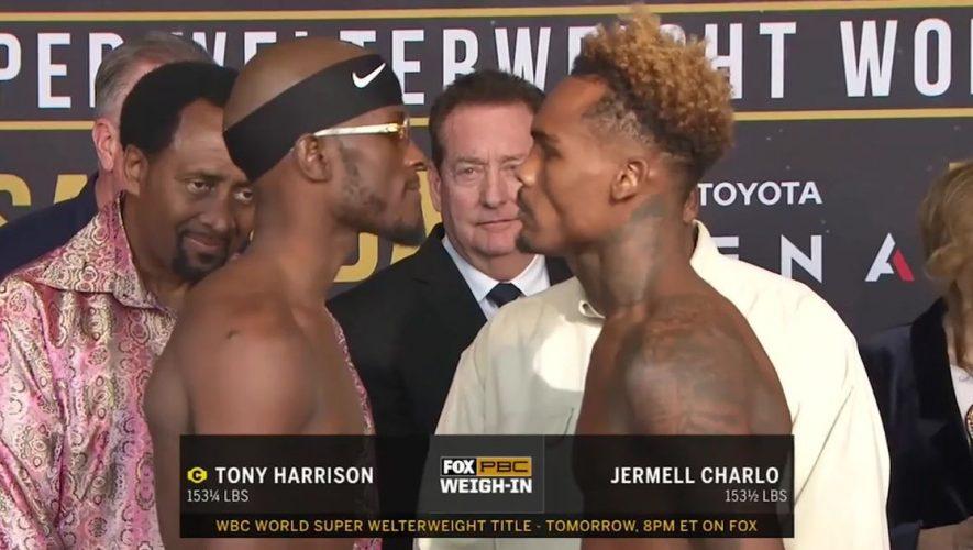 PBC on FOX | Charlo vs Harrison Weigh In (VIDEO)