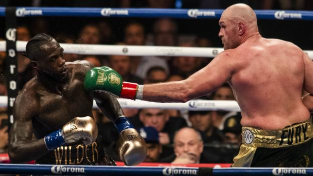 Tyson Fury v Deontay Wilder II set for 22 February in Las Vegas