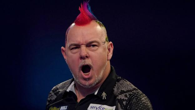 PDC Darts Championship: Peter Wright reaches final with victory over Gerwyn Price