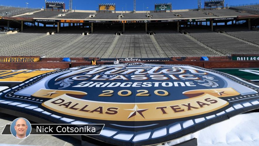 Steve Mayer's trip to Cotton Bowl Stadium in 2018 leads to Winter Classic