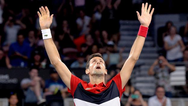 ATP Cup: Novak Djokovic-inspired Serbia beat France to reach quarter-finals