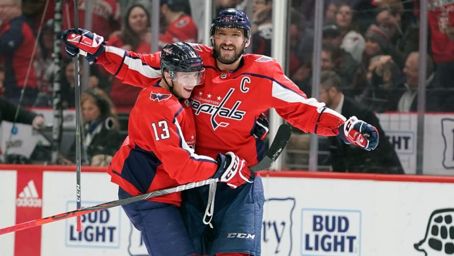 Ovechkin closes in on top 10 in NHL goals for Capitals