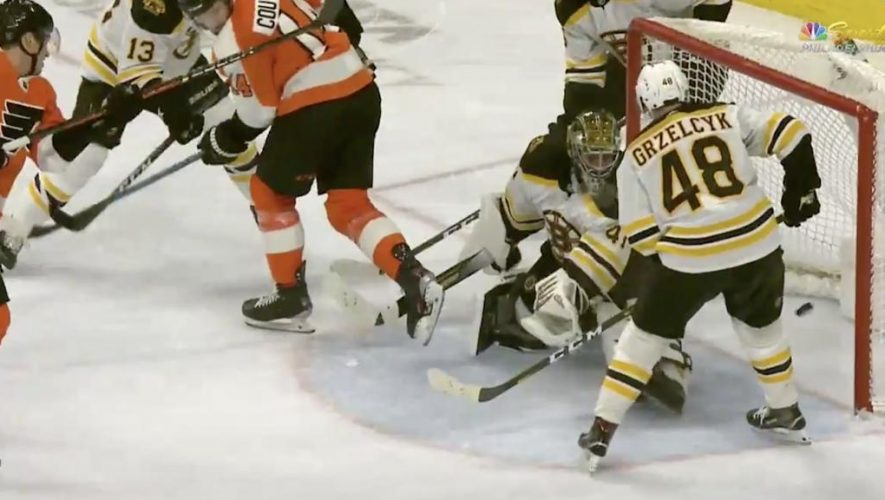 Sanheim, Flyers rally to defeat Bruins in shootout