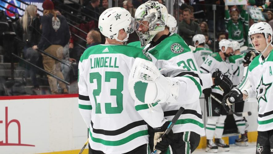 Lindell, Stars rally past Avalanche in OT