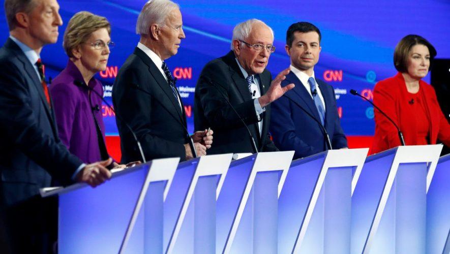 Democratic Candidates Face Off on Foreign Policy in Iowa Debate