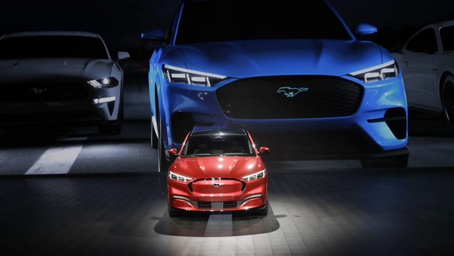 Tesla Flounders in Ford Country as Mustang Mach-E Hype Rages