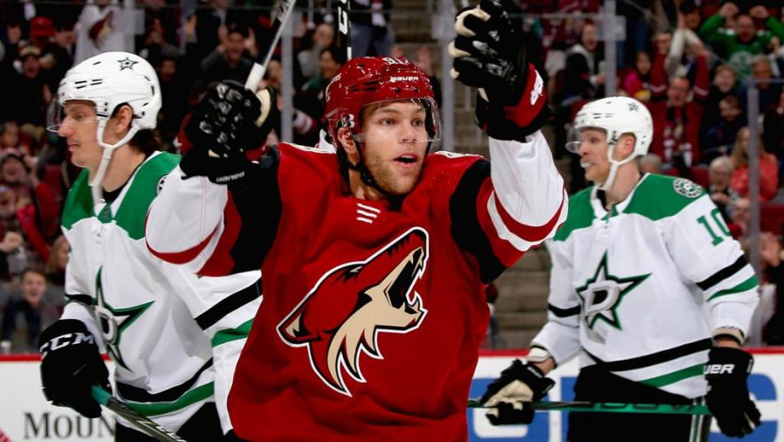 Hall trade helping Devils, Coyotes after one month