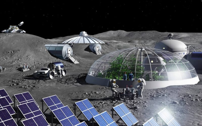 ESA researchers built a plant that can extract oxygen from the moon – TechSpot