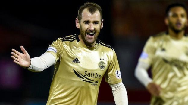 Hamilton Academical 1-3 Aberdeen: Derek McInnes' men rediscover scoring touch