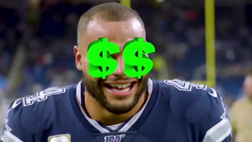 Jason Whitlock: Dak Prescott's mounting frustration is writing a $40M check the Cowboys can't cash (VIDEO)