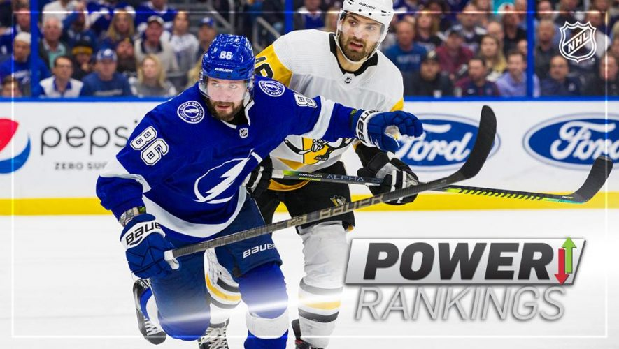 Super 16: Lightning at No. 1 for first time since preseason