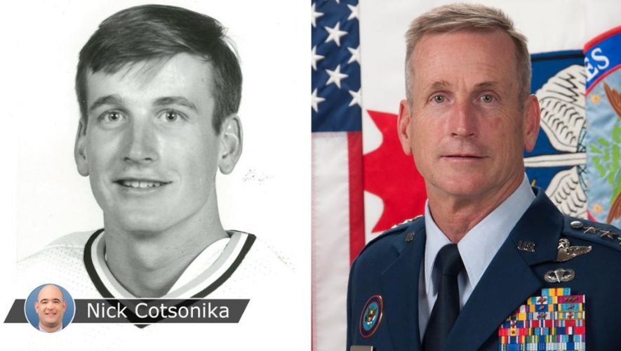 Stadium Series special for Air Force four-star general