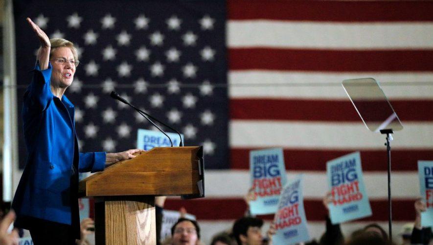 Elizabeth Warren Hurt in Iowa, N.H. by Health-Care Scrutiny