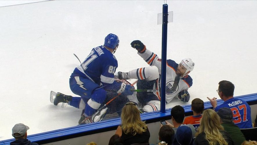 Kassian suspended seven games for actions in Oilers game