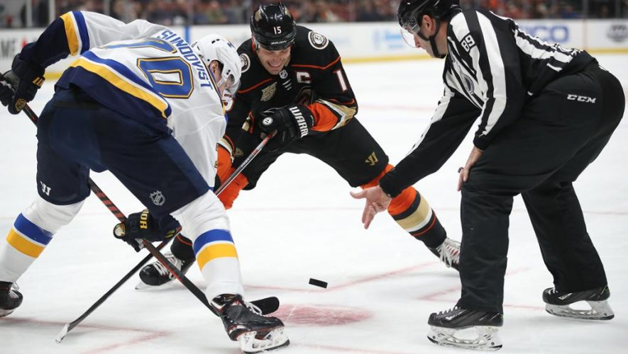 Blues-Ducks game rescheduled for March 11