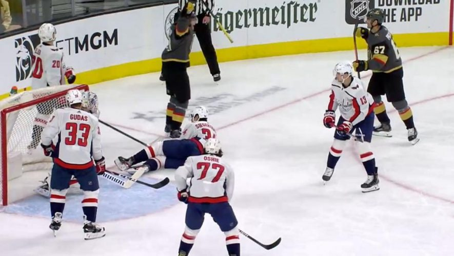 Ovechkin stuck two from 700, Capitals lose to Golden Knights