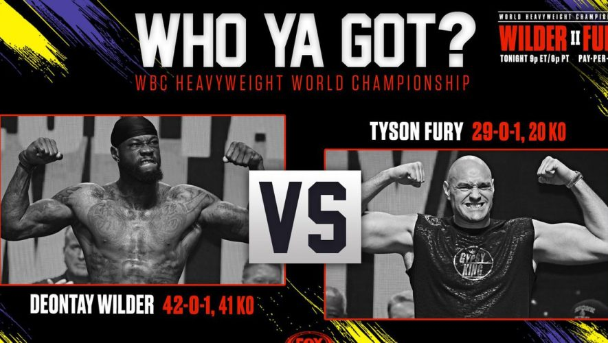 Wilder-Fury 2: Live results, recap, highlights and more — follow along