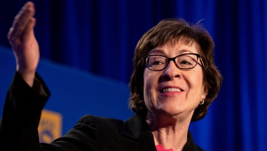 Trump Era Challenges Maine Voters' Loyalty to Susan Collins