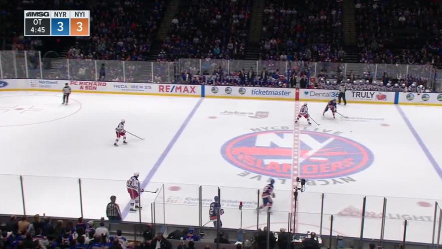 Rangers spoil Pageau's debut with Islanders