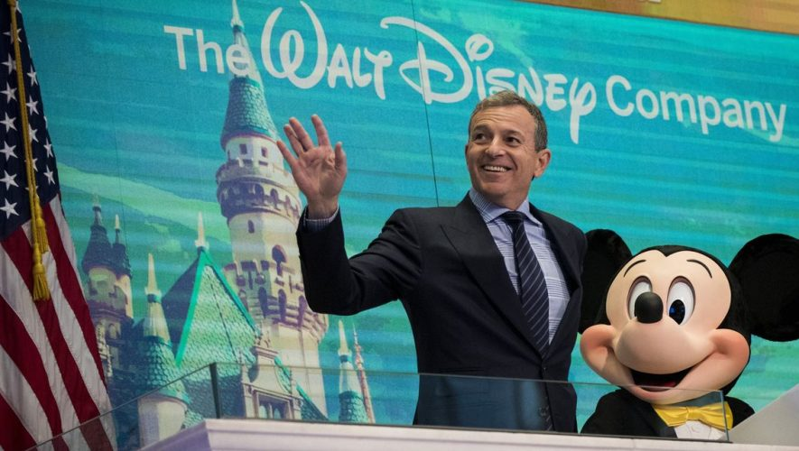 Disney CEO Bob Iger Steps Aside; Bob Chapek Named New Head