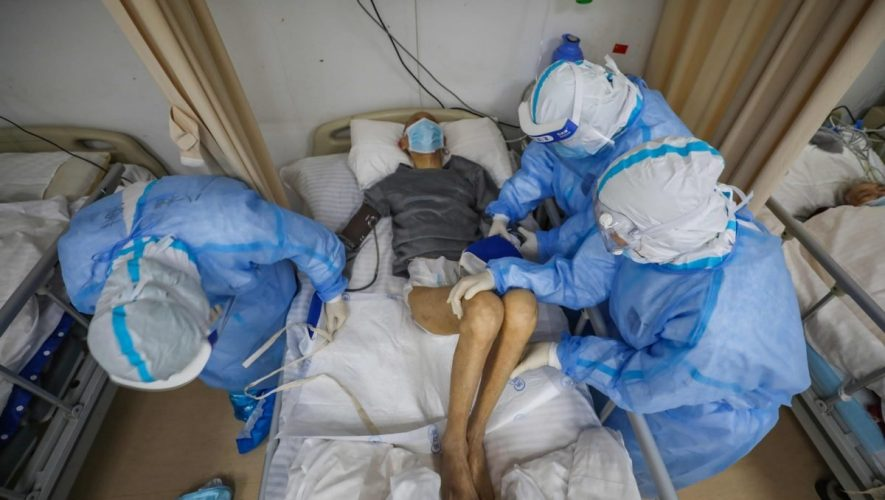 Coronavirus Quarantine Hotel in China Collapses