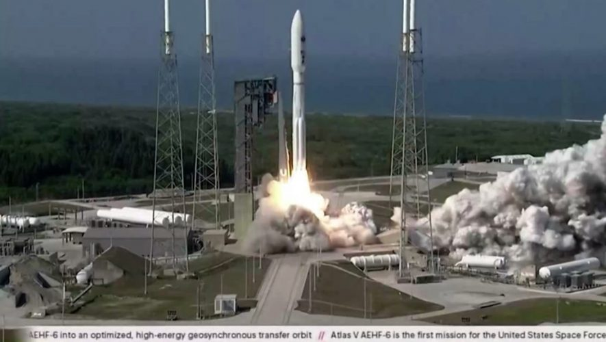 US Space Force launches satellite after glitch – BBC News