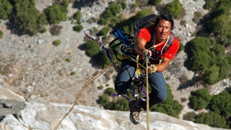 How 'Free Solo' filmmaker Jimmy Chin tackles fear—and family travel