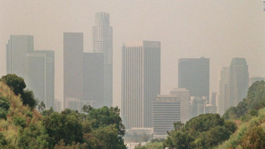 Covid-19 death rate rises in counties with high air pollution, study says – CNN