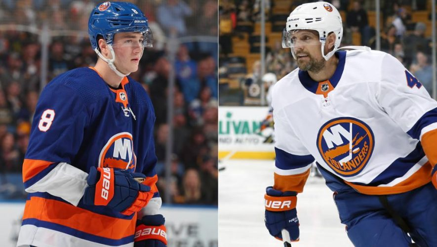 Dobson of Islanders feels at home with Seidenbergs during NHL pause