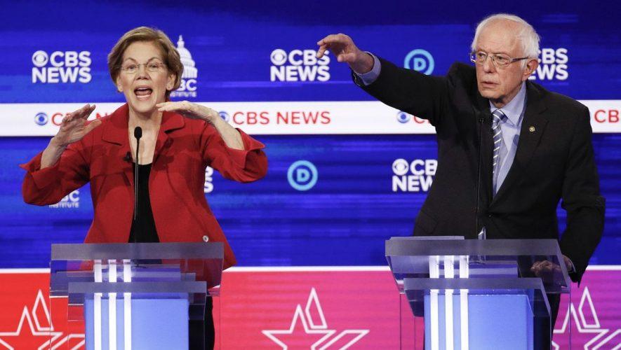 Trump: Elizabeth Warren to blame for Bernie Sanders' loss