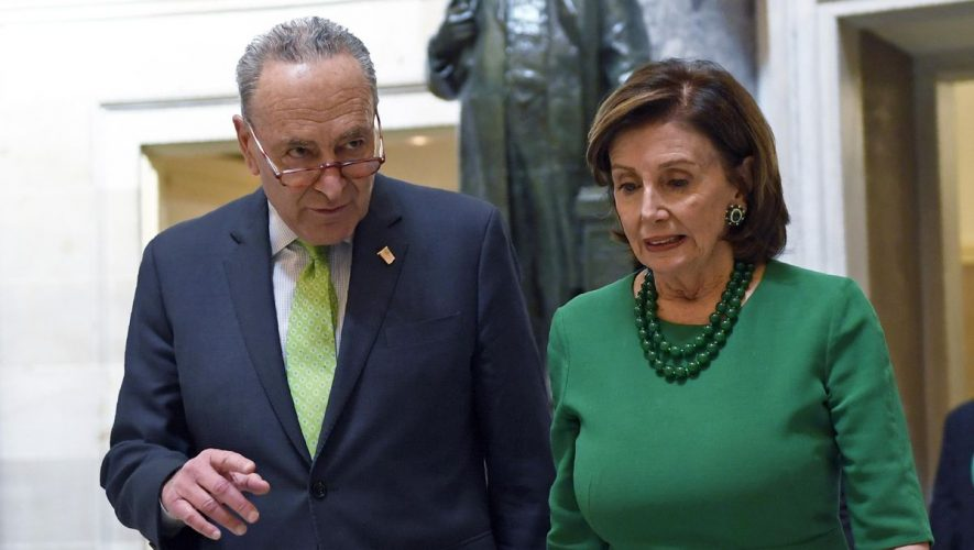 Nancy Pelosi, Chuck Schumer lay down markers for 'interim emergency' relief package