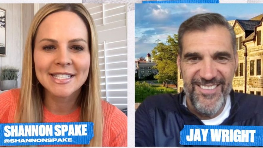 Jay Wright on Villanova's 2016 Championship & staying connected in quarantine   ONE UP ONE DOWN WITH SHANNON SPAKE (VIDEO)